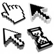 Stock Photo: Mouse cursors