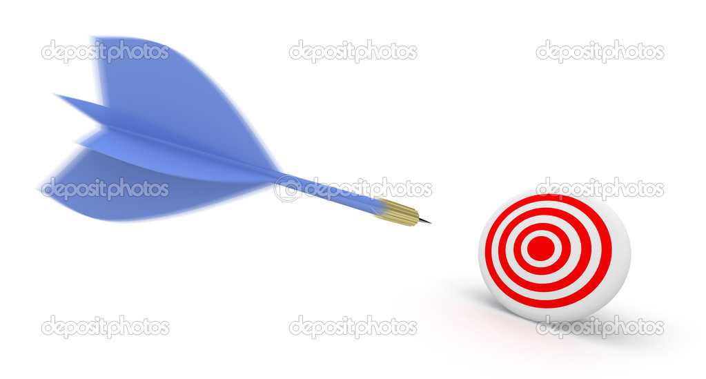 Darts concept. — Stock Photo #2521636