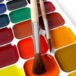 Royalty-Free Stock Photo: Watercolor paints