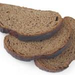 Rye bread slices — Stock Photo