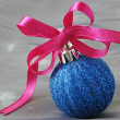 Royalty-Free Stock Photo: Christmas bauble