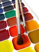Watercolor paints — Stock Photo
