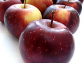 Purple apples — Stock Photo