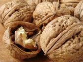 Walnuts still life — Stock Photo