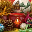 Christmas still life — Stock Photo #1101441