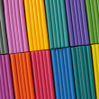 Colorful plasticine set as a background — Stock Photo #1102713