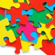 Royalty-Free Stock Photo: Colorful puzzle