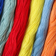 Colorful threads - Foto Stock