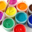 Stock Photo: Gouache paints