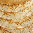 Pancakes background — Stock Photo