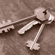 Stock Photo: Keys