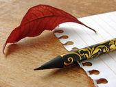 Notepad page — Fotografia Stock