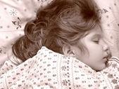 Spanie dziecka — Zdjęcie stockowe