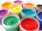 Gouache paints — Stock Photo