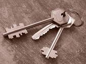 Klucze — Zdjęcie stockowe