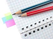 Kolorowe notatki — Zdjęcie stockowe