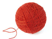 Red skein — Stock Photo