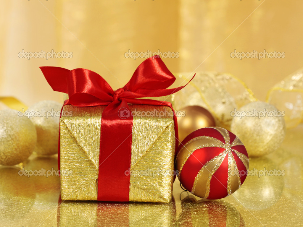 Christmas gift — Stock Photo #1079118
