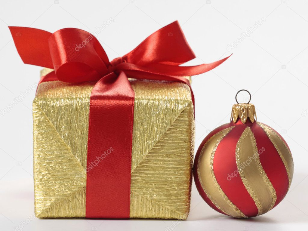 Christmas gift — Stock Photo #1079127