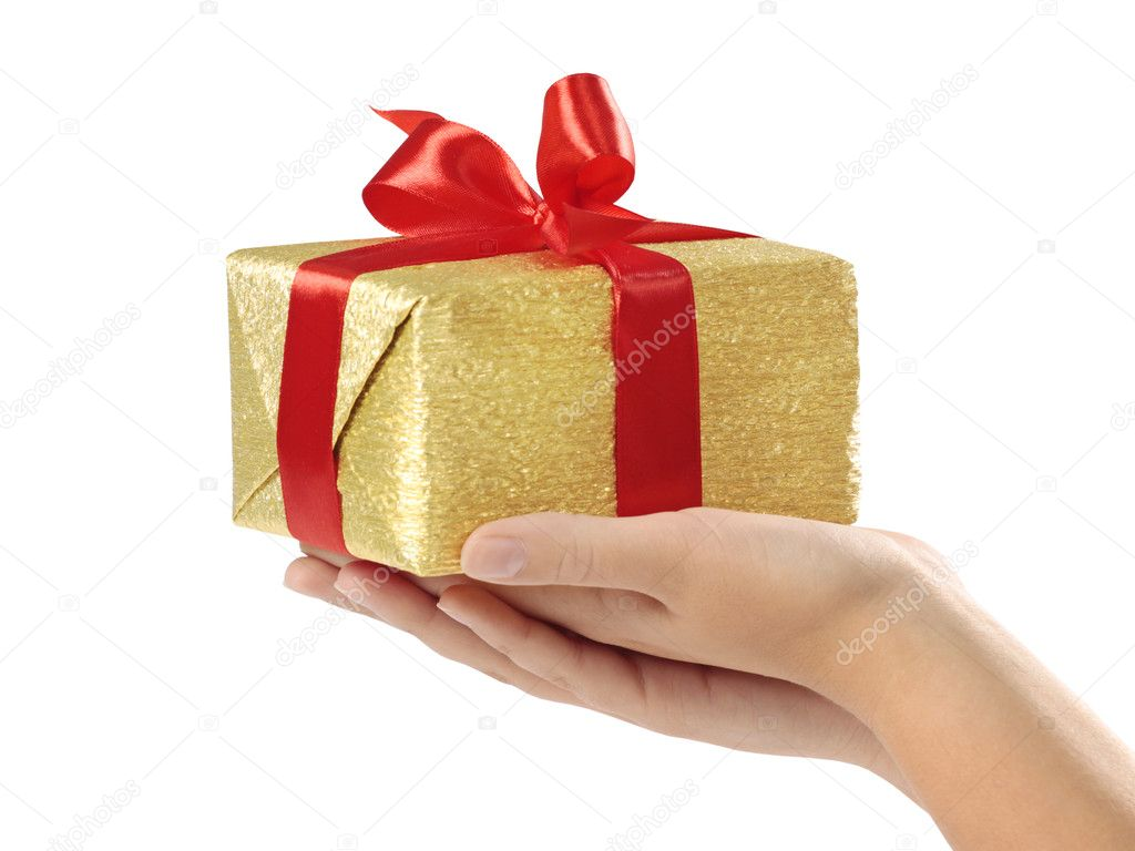 gift box — Stock Photo #1079174