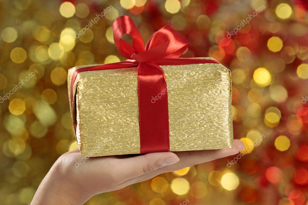 gift box — Stock Photo #1089989