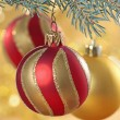 Christmas balls — Stock Photo #1092080