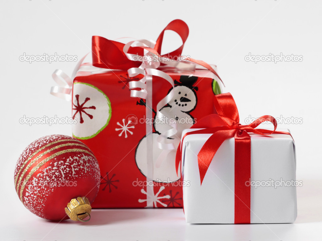 Christmas gifts  Stock Photo #1102376