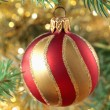 Christmas ball - Stockfoto