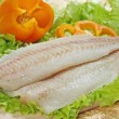 Raw fish fillet — Stock Photo