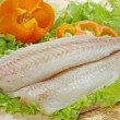 Stock Photo: Raw fish fillet