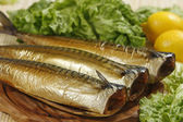 Smoked mackerel — Stock Photo