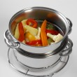 Stock Photo: Boiled vegetables