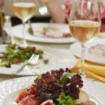 Fresh tasty dinner — Stock Photo