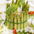 Asparagus salad — Stock Photo #1183822