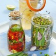 Stock Photo: Marinated vegetables