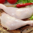 Fresh raw chicken legs — Stock Photo