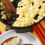 Fresh omelet — Stock Photo