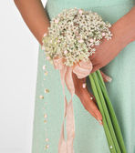 Kytice růžových květů — Stock fotografie
