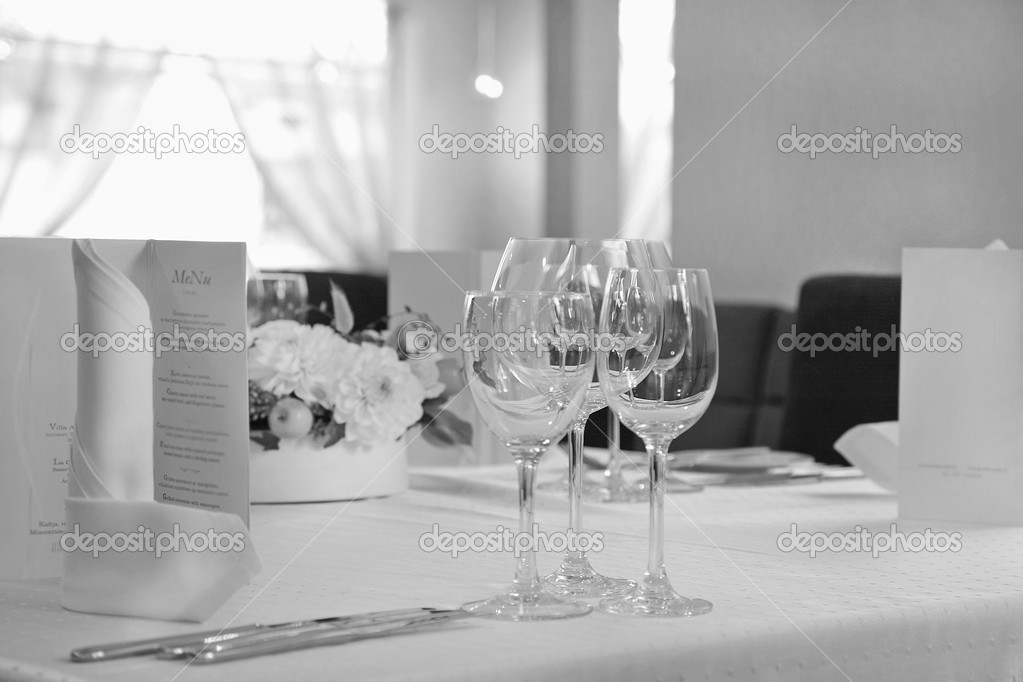 Served restaurant table — Stock Photo #1189193