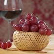 Red grapes — Stock Photo #1261716