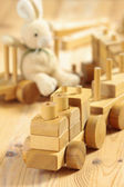 Wooden toys — Stock Photo