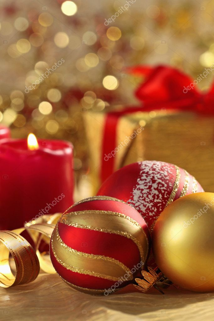 Christmas balls — Stock Photo #1275950