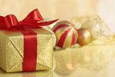 Рождественский подарок — Стоковое фото