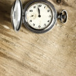 Foto Stock: Old clock