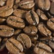 Coffee beans, macro - Stock Photo