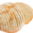 Bread, white background - Stock fotografie