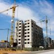 construction de maisons d'habitation, cran — Photo