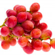 Stock Photo: Red grape, isolated
