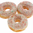 Donuts, glaze — Stock Photo