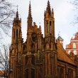 Church of St. Anne, Vilnius, Lithuania — Stock Photo